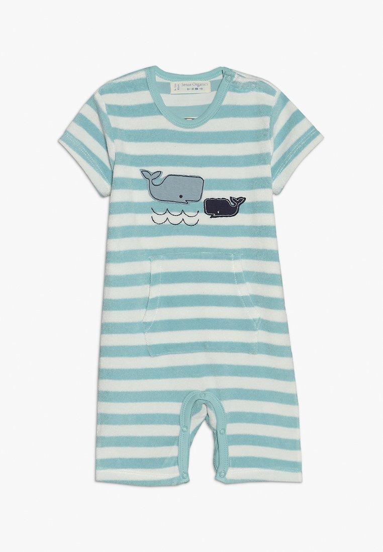 Sense Organics - MARTE RETRO BABY ROMPER - Jumpsuit - light blue