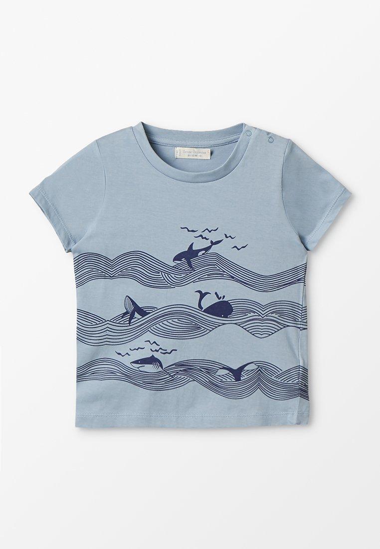 Sense Organics - ZGREEN IBON  - Camiseta estampada - light blue