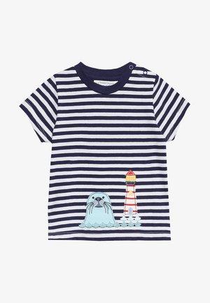 IBON BABY - T-shirt con stampa - navy