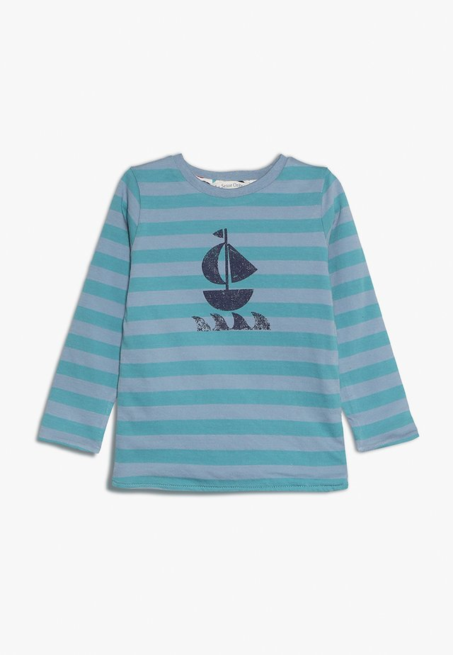 FELIX REVERSIBLE BABY - Long sleeved top - blue
