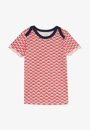 TOBI BABY - T-shirt con stampa - white/red