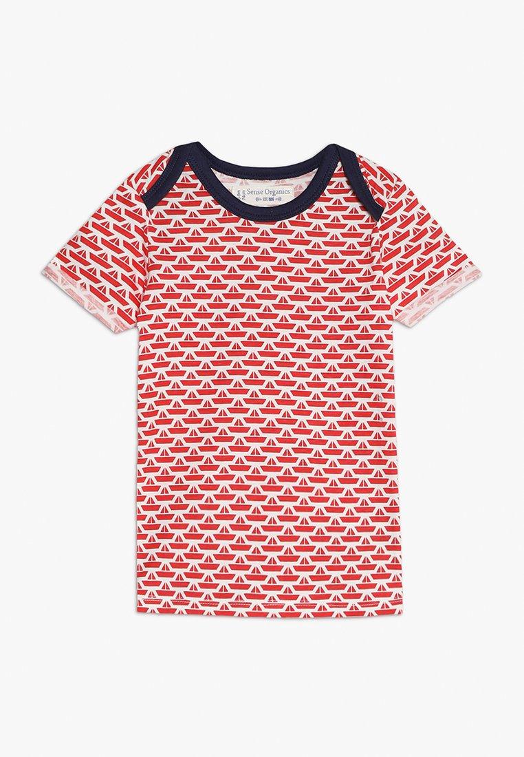 Sense Organics - TOBI BABY - T-shirt print - white/red