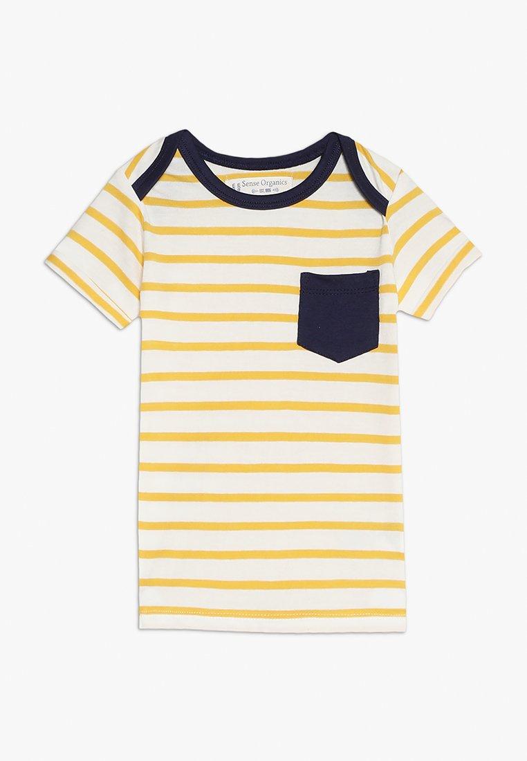Sense Organics - TOBI BABY - Camiseta estampada - yellow