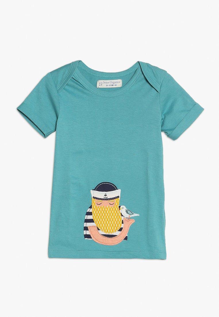 Sense Organics - TOBI BABY - Camiseta estampada - aquamarine