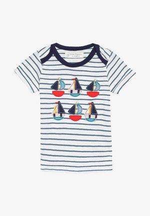 TOBI BABY - T-shirt con stampa - steal blue