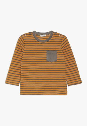 ELAN BABY - Camiseta de manga larga - yellow/dark grey