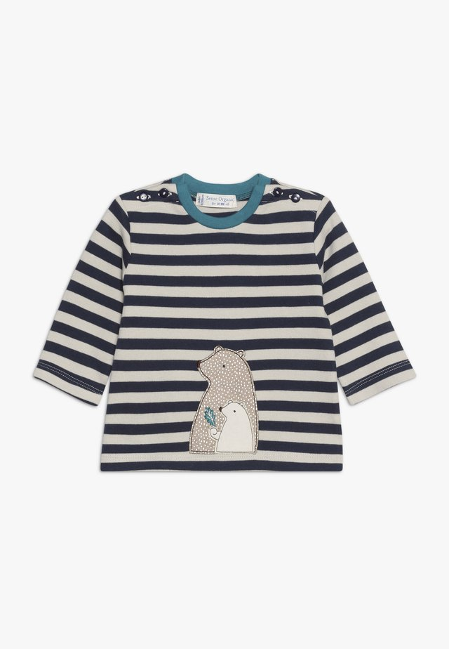 ELAN BABY - Långärmad tröja - navy/beige