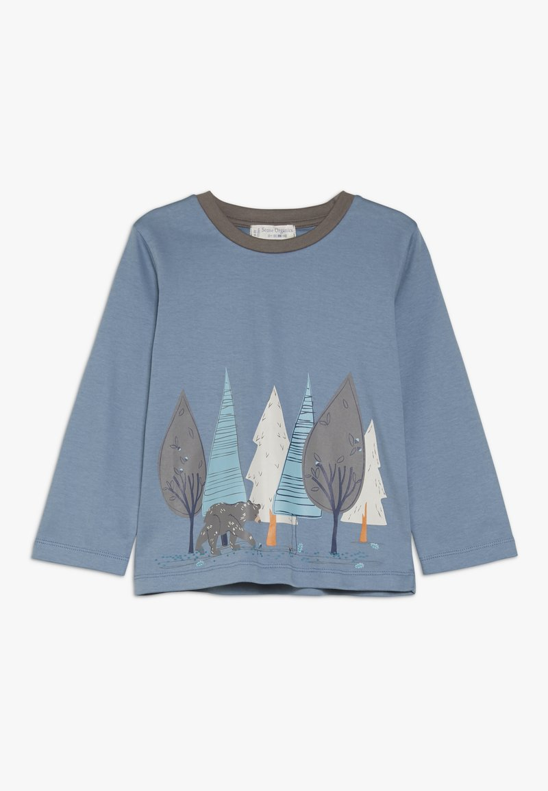 Sense Organics - MALTHE SHIRT - Long sleeved top - blue