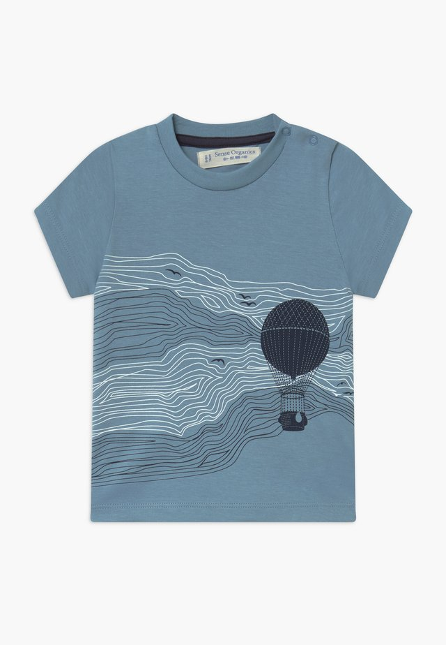 IBON BABY - T-shirt z nadrukiem - blue