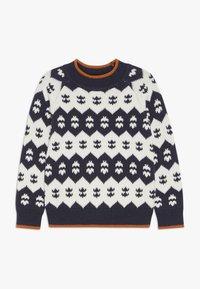 Sense Organics - LENNO  - Pullover - navy/ivory - 0