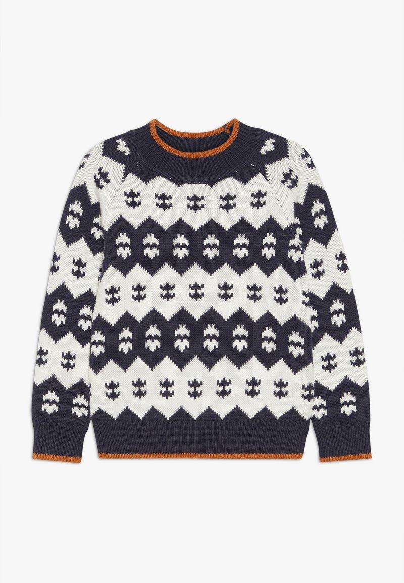 Sense Organics - LENNO  - Pullover - navy/ivory