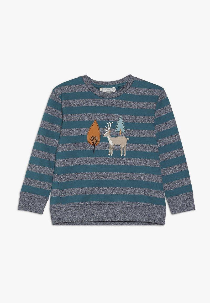Sense Organics - FINN  - Sweatshirt - navy/teal