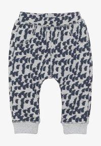 Sense Organics - ZOLA BABY PANT - Pantalones - grey melange - 2