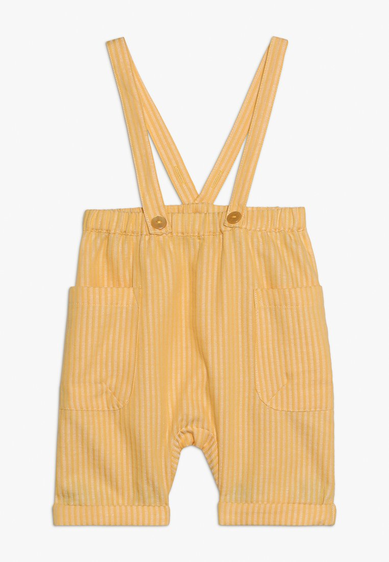 Sense Organics - BABY SHORT DUNGAREE - Peto - yellow