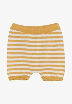 BABY - Shorts - yellow/ivory