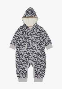 Sense Organics - ANOKI BABY HOODED OVERALL - Jumpsuit - grey melange - 2