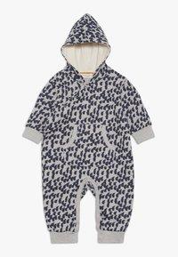 Sense Organics - ANOKI BABY HOODED OVERALL - Jumpsuit - grey melange - 0