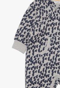 Sense Organics - ANOKI BABY HOODED OVERALL - Jumpsuit - grey melange - 3