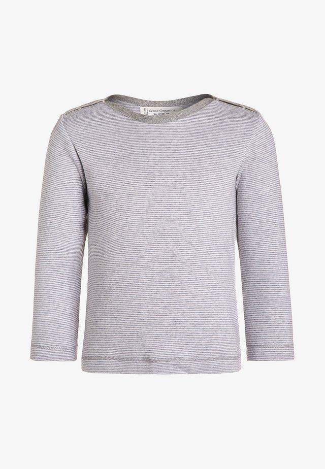 LUNA - Bluzka z długim rękawem - grey marl