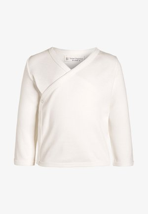 VICTORIA - Long sleeved top - ecowhite