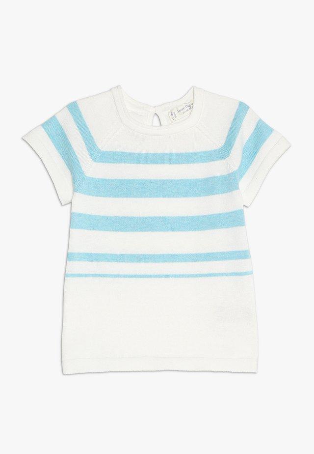 CARLITOS BABY - T-shirt print - light turquoise/ivory