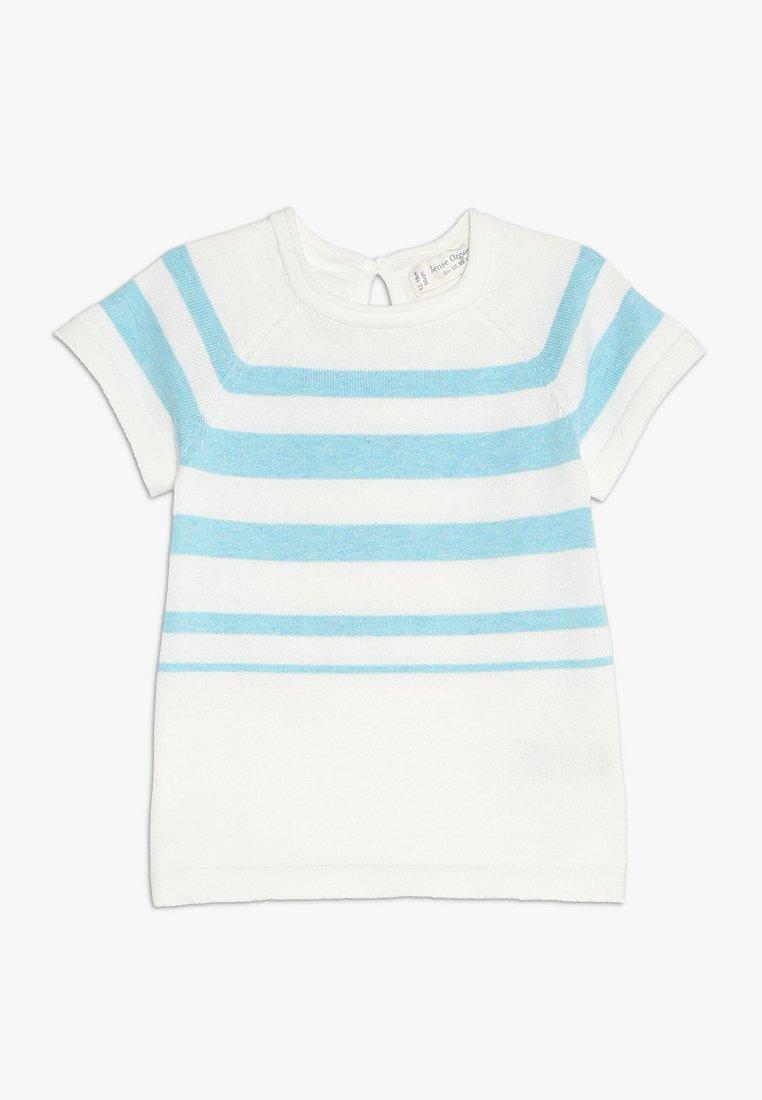 Sense Organics - CARLITOS BABY - Camiseta estampada - light turquoise/ivory