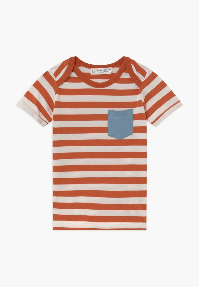 TOBI BABY - T-shirt print - rusty orange