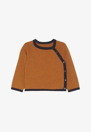 PICASSO BABY WRAP JACKET - Vest - rusty orange