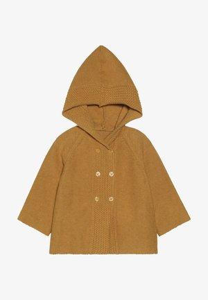 PAUL BABY HOODED - Vest - mustard