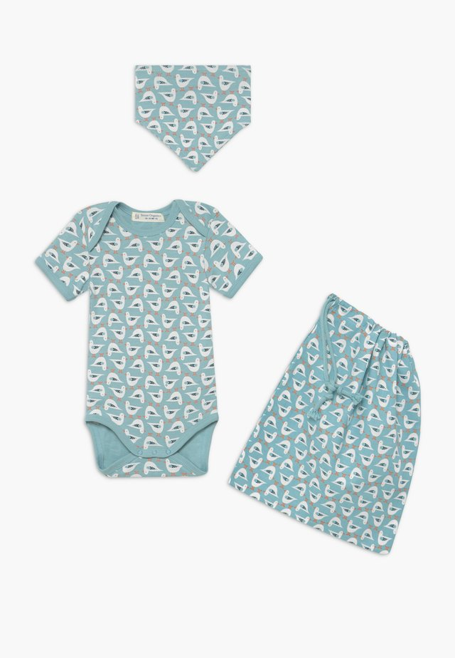 RETRO BABY  SET - Undertøysett - blue