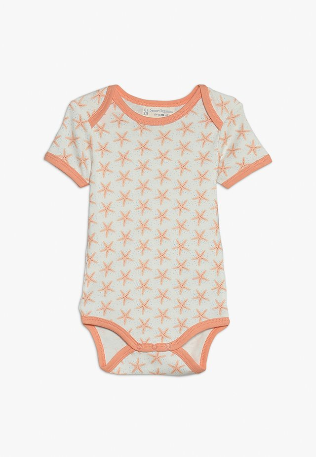 YVON RETRO BABY - Body - white/salmon