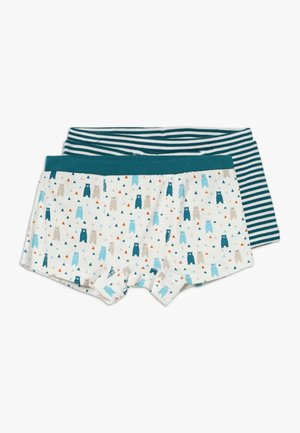 PRINCE RETRO BOXERSHORTS 2 PACK - Pants - mottled teal/ multi coloured