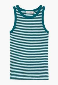 Sense Organics - RETRO 2 PACK - Undershirt - mottled teal/multi-coloured - 2