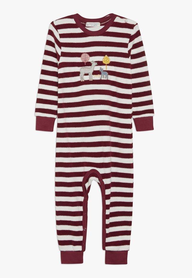 RETRO BABY ROMPER - Pyjama - beet red