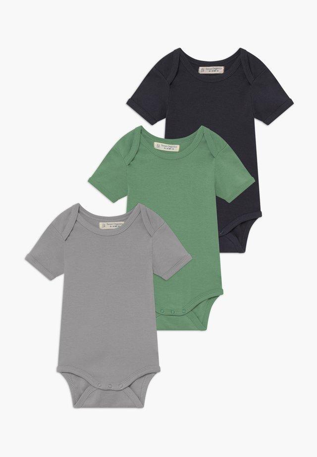 BABY 3 PACK - Body / Bodystockings - green/navy/lilac grey