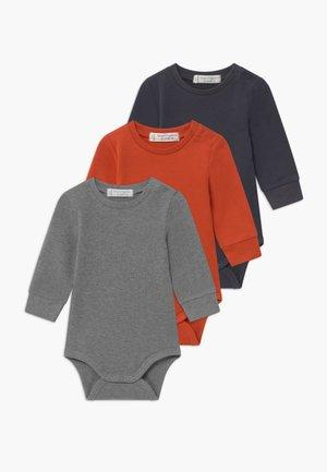 MILAN BABY 3 PACK - Body - chili / navy / grey melange