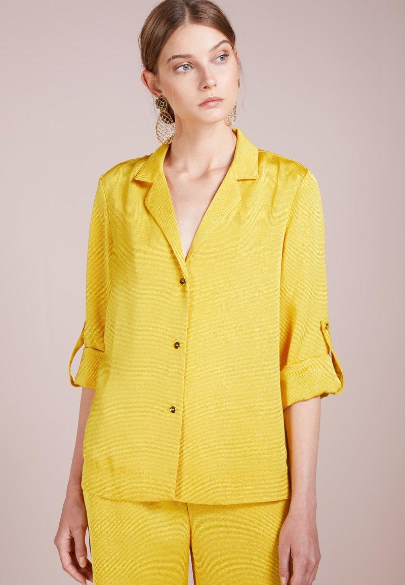 Stine Goya - NICO - Button-down blouse - lemon
