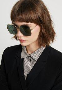 Stella McCartney - Sunglasses - gold-colured/green - 1