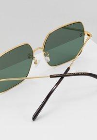 Stella McCartney - Sunglasses - gold-colured/green - 4