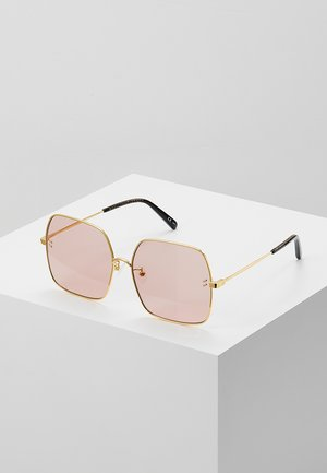 Sunglasses - gold-colured/pink