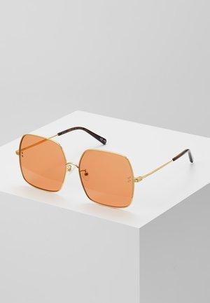 Sunglasses - gold/orange