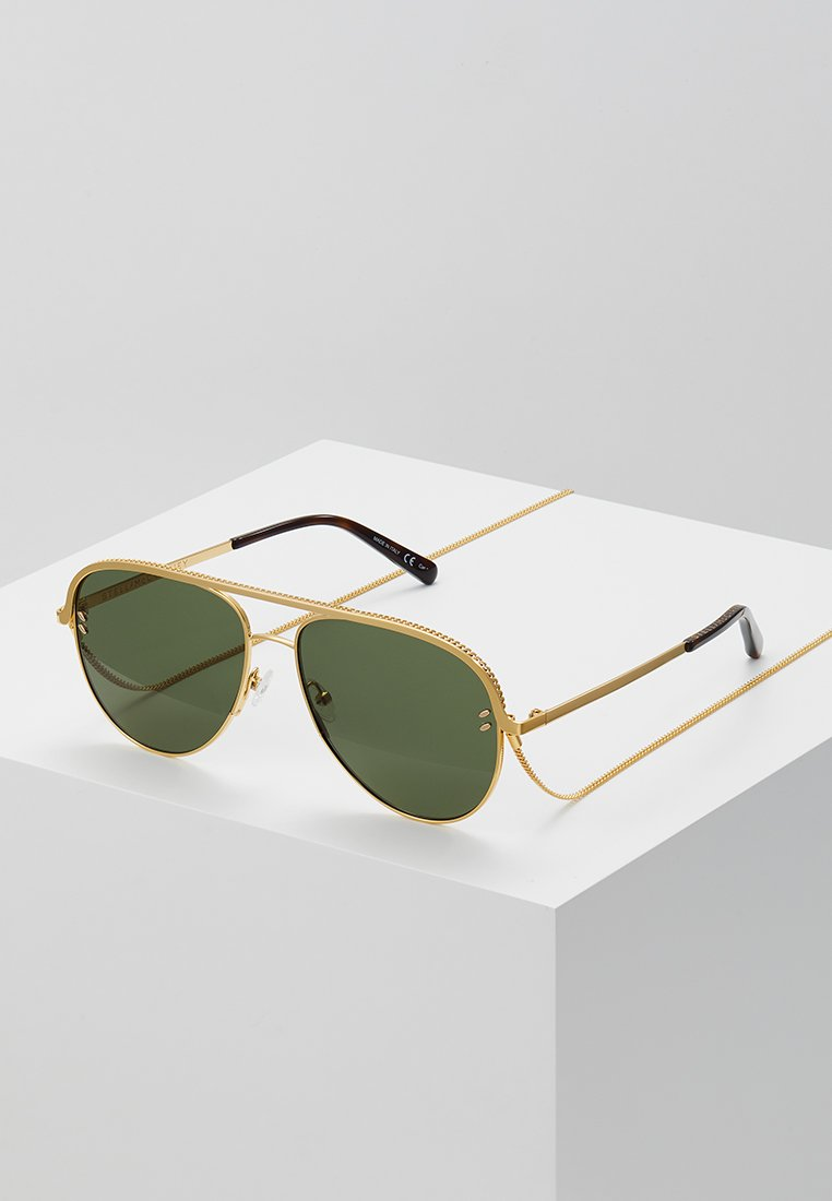 Stella McCartney - Sonnenbrille - gold-coloured/green