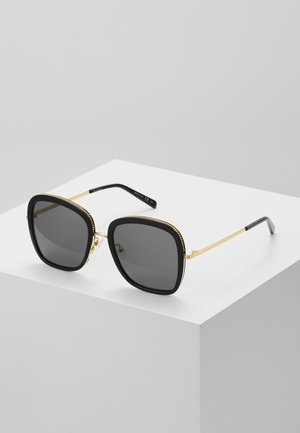 Sonnenbrille - black/gold/smoke