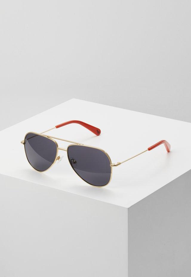 SUNGLASS KID  - Sunglasses - gold/smoke