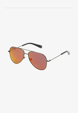 SUNGLASS KID  - Zonnebril - ruthenium/red