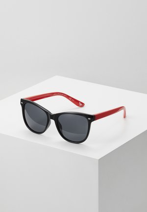 SUNGLASS KID - Occhiali da sole - black/red/smoke