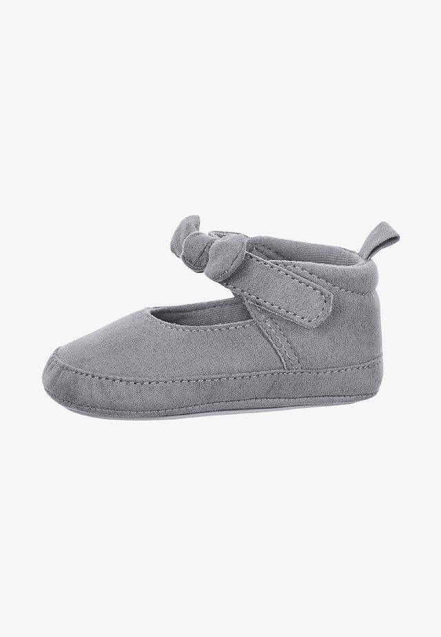 BABYSCHUH - First shoes - rauchgrau
