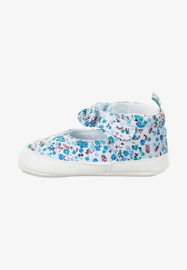 First shoes - samtblau