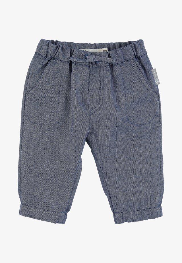 Trousers - mittelblau