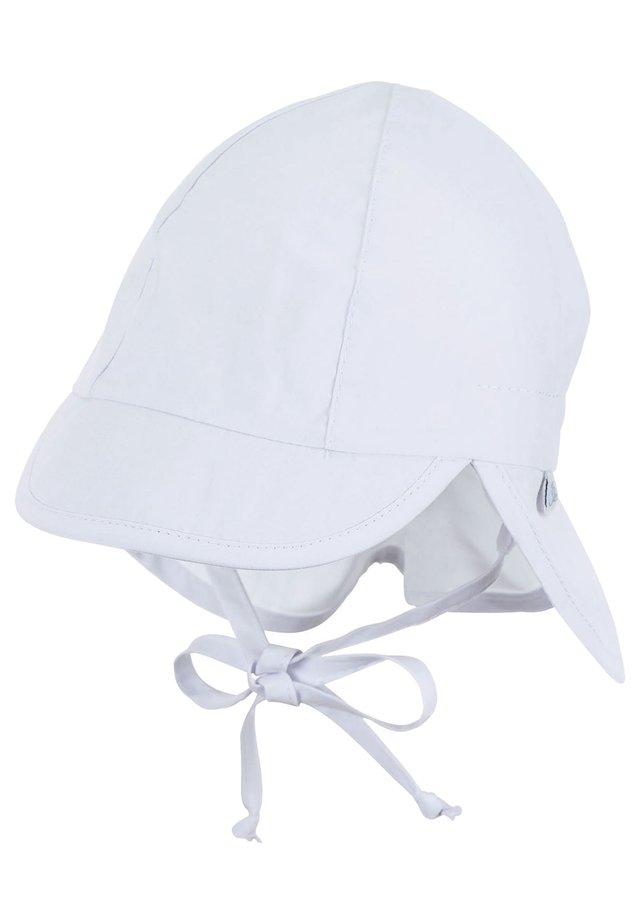MIT NACKENSCHUTZ - Cap - weiss